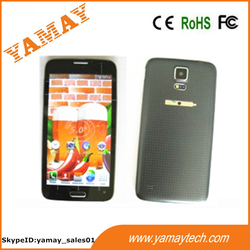 Cheapest wholesale bulk 5'' Android MTK6572 dual core 256MB ram+2GB rom smart phone