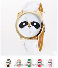 2016 Creative fashion Cartoon Unisex cheap children watches cute lovely panda cat bear watch faces fancy watches for kids wrist