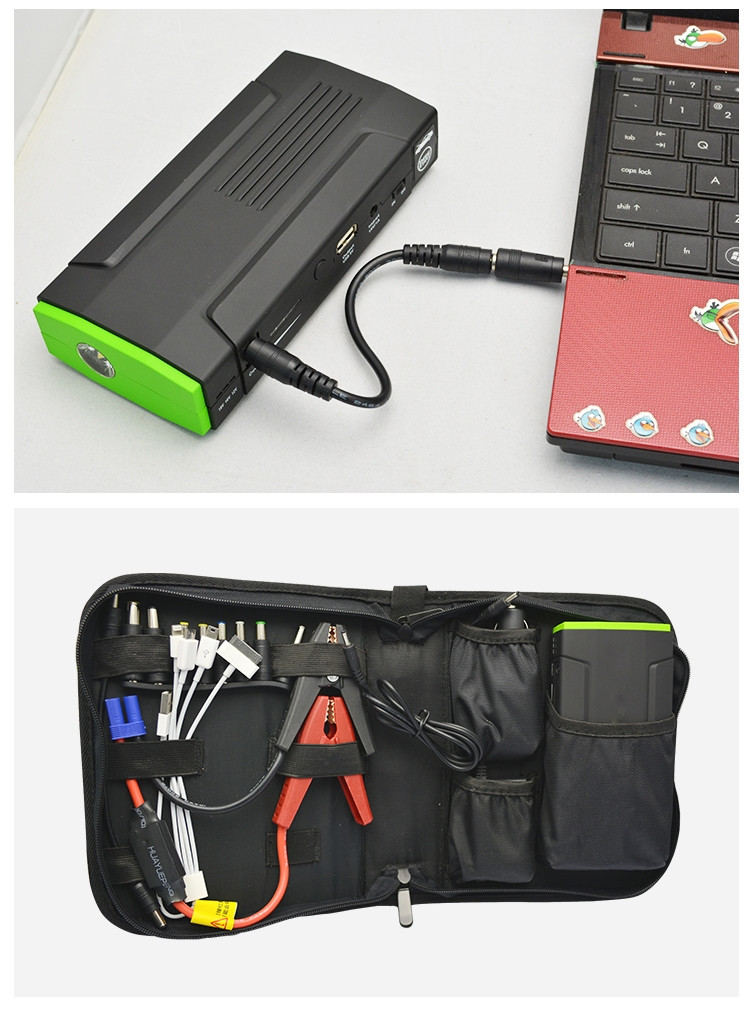 Top selling super start high cost performance 16000mah portable mini jump starter power bankfor car, laptop, phone, tablet