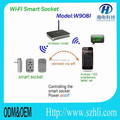 the highest property intelligent power wall socket support smartphone control support OEM/ODM wifi smart wall socket.