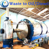 SCRAP RUBBER TYRE PYROLYSIS MACHINE WITH