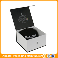 recycled gift paper packaging box cardboard top hat