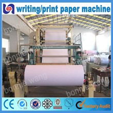 787-3200mm Bamboo Writing Paper / Blotting Paper / Water Writing Paper Making Machine