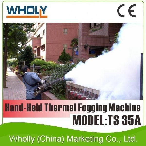 Energia a gás Fumigação Desinfecção Mosquito Controle De Pragas Máquina de Nebulização Térmica Portátil Preços