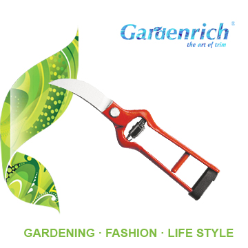 RG1106 Gardenrich Good Quality Drop Forged Hand pruner garden tools