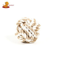New Style Factory Directly Provide Cat Cotton Rope Toy Ball