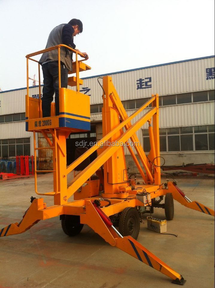 Factory direct sale Truck mounted aerial work platform