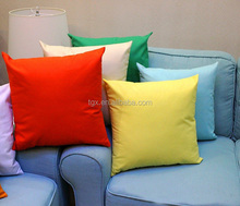 Wholesale Chain Stitch and Plain Stitch Cushion Pillow Cover blank cushion cover