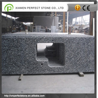 wave white granite for table top