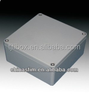 2015 TIBOX Best Selling Electrical Waterproof Distribution Die Cast Aluminium Box