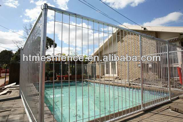 USA CA AU NZ Market Pool Garden Backyard Fencing /Black Powder Coated Pool Fence factory