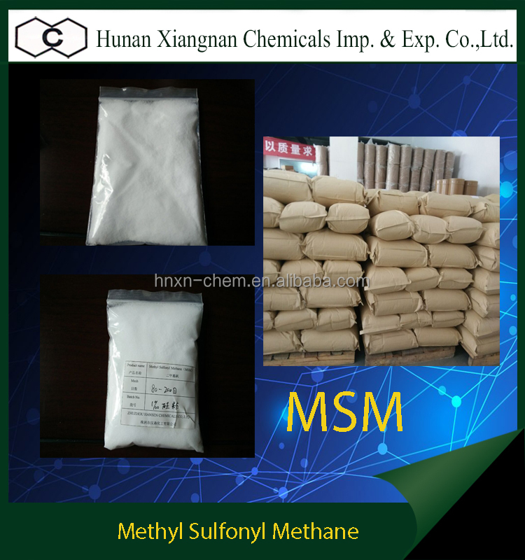 new hot selling 99.9% Purity MSM Methyl Sulfonyl Methane at best price
