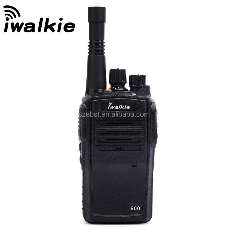 Newest army long distance network handheld Walkie Talkie With SIM Card