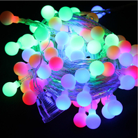 alibaba express 2014 outdoor use all color 30 m 300 led ball cover led christmas light/battery operated led decorative light