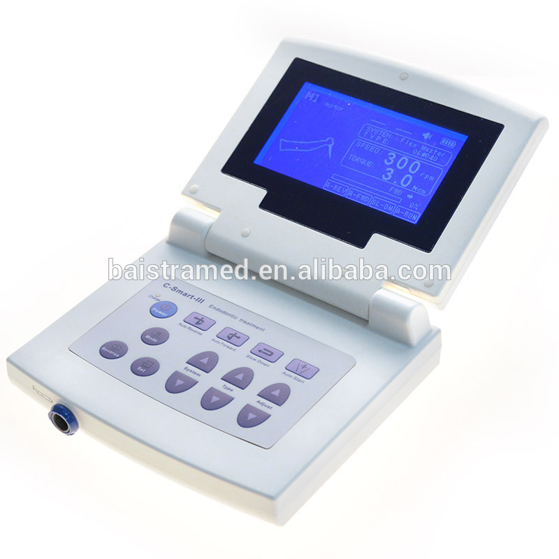 Folding color LCD screen dental apex locator with endo motor