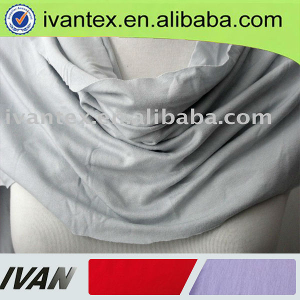 Fashion new design stretch single jersey polyamide spandex fabric