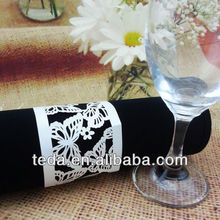 Teda napkin rings art&crafts Butterfly design