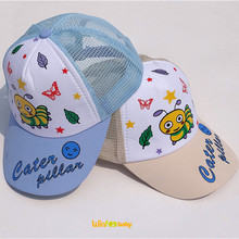 wholesale front foam mini baby trucker cap with painting