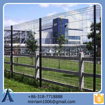 Made in China hot sale Hot dip fansi fence / 3d high quality fansi fence / welded fansi fence