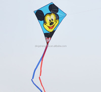 Cartoon animal shape kite flying mickey mouse kite children kite