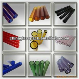 Borosilicate Colored Glass Tube