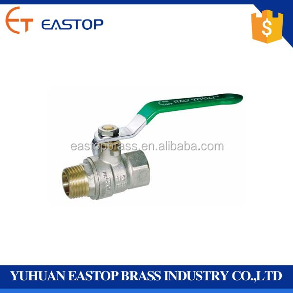 High Pressure Butt Weld Female Male Forged Brass Ball Valve Price