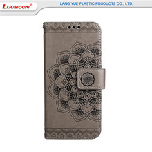 Simple Style Embossed Pu Leather+Tpu Mobile Phone Case For Samsung S6/5/4/3 With Card Pocket&Magnetic Handbag Cell Phone Case