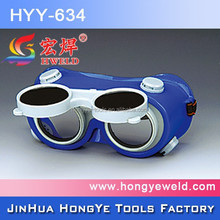 Popular CE EN175 Safety Welding Goggle Flexible PVC Welding Goggles HYY-634