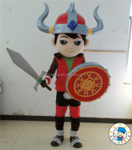 HOLA New design soldier mascot costume for adult