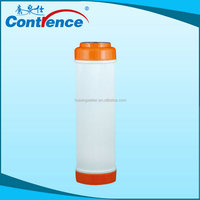 reusable filter element including cto carbon filter/udf filter cartridge