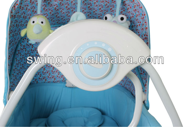 automatic swing baby bed baby cot with EN 16232 standard/swing bed,electric bed/auto bed