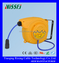 Automatic Plistic Flexible Electric Cable Reel with lamp reel drum power cable reel