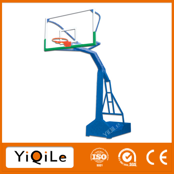 Movable basketball backstop healthy promoting basketball pole height basketball training equipment for school