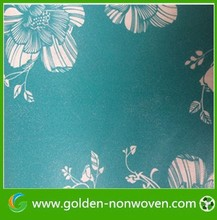 [Non-woven Factory ] buy pp non-woven fabric print nonwoven wall papers 2015