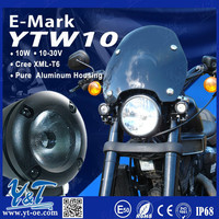 HOT IN USA new design 10w motorcycle front lights headlights for sale
