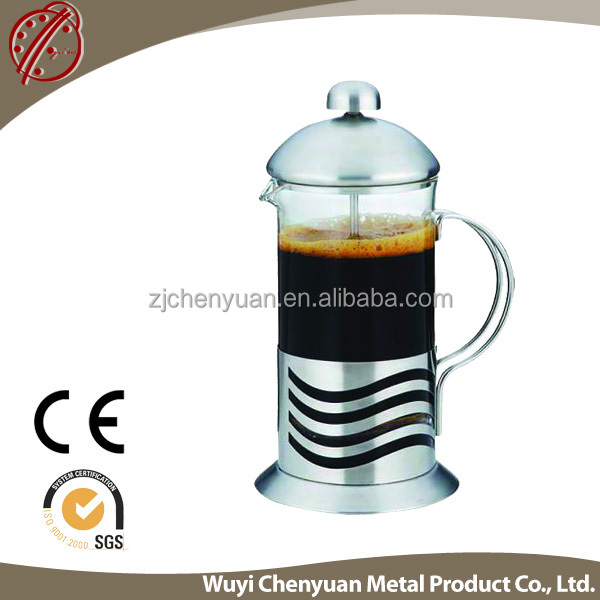 Travel used Heat-resistant glass Coffee & Tea Sets/coffee plunger 350ml