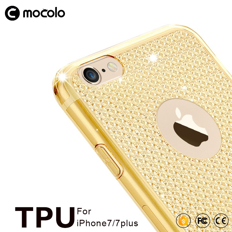 Mocolo EXCO HD version full cover crystal soft tpu mobile phone case for iPhone 6s 7 plus