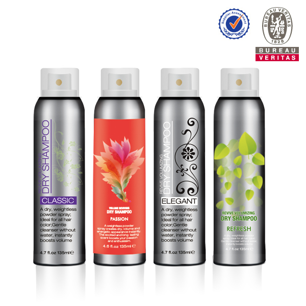 Volumizing Professional Nautral Aerosol Refresh dry shampoo VOC<55%