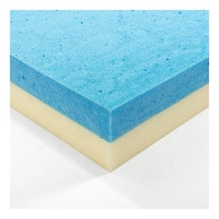 Cooling mattress topper cool gel memory foam