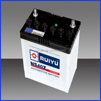 Top 12V36AH Lead Acid Dry Charged N40Z Automotive Battery