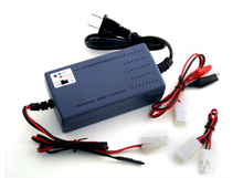 Universal smart airsoft charger with tamiya for 7.2-12V pack