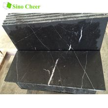 black marquina marble tile 24 x 18 wash surface black marble with white veins