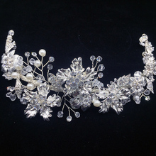 Bridal Hair accessories Handmade Wedding Headpiece Flower headband