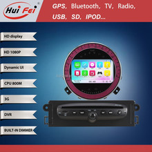 2015 Hot Selling Double Din Car Radio With Canbus For BMW Mini Cooper With GPS Radio Bluetooth