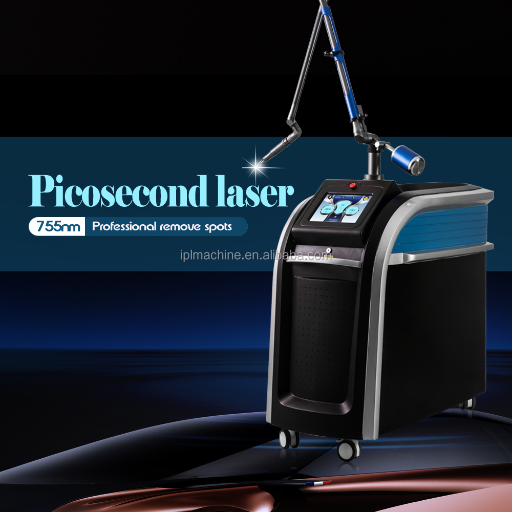 2017 New Beauty Technology 755nm 1064nm 532nm Picosecond Laser Machine