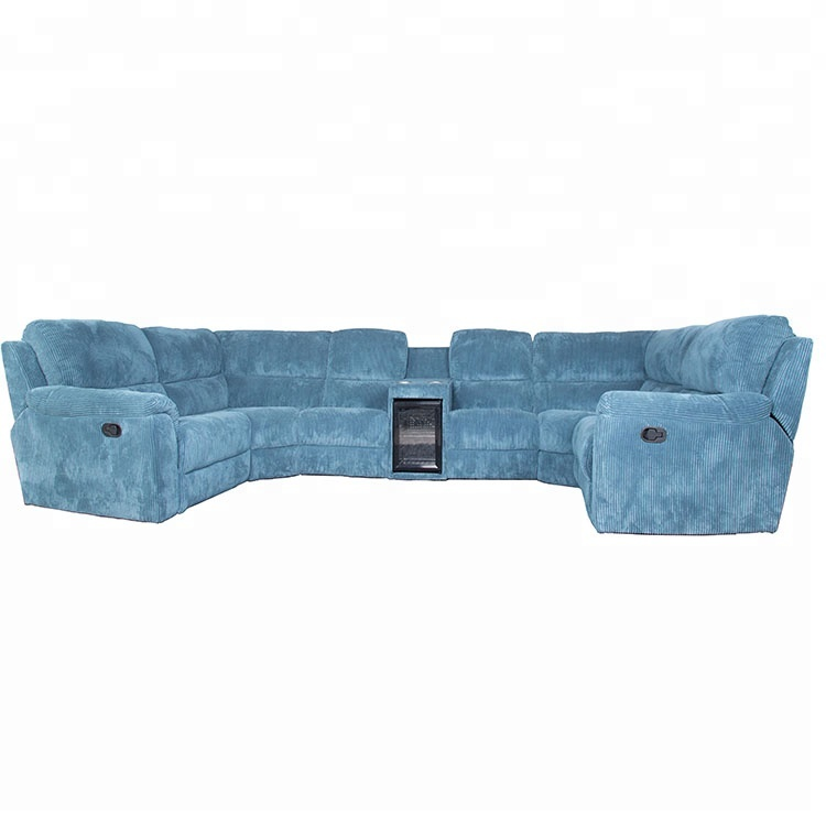 Decoro Corner Fridge Sofa Square Fabric Recliner Sofa Set Sectional Corner  Sofa - Buy Recliner Sectional Corner Sofa,Corner Sofa,Sectional Sofa ...