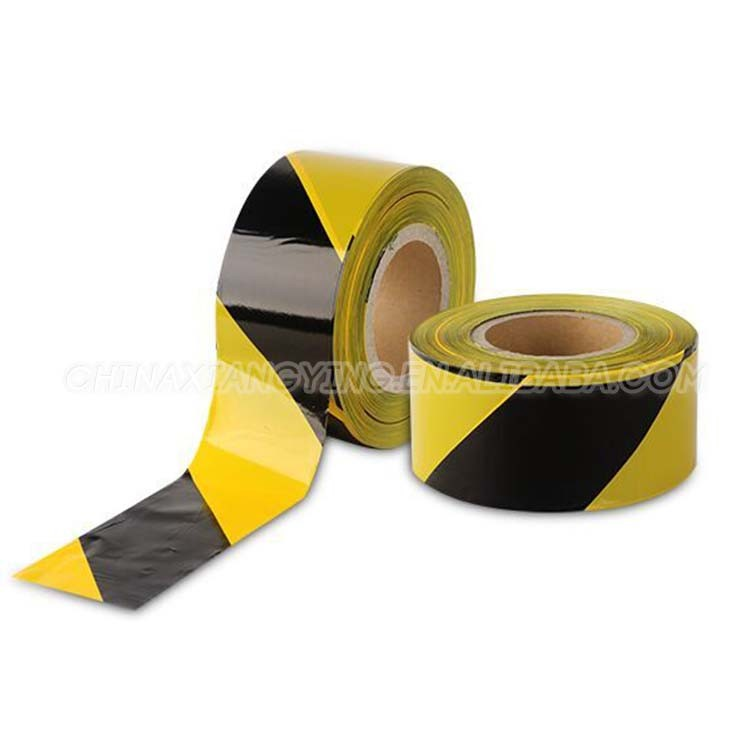 Without Back Adhesive Stripe Warning tape Safety Products PE tape