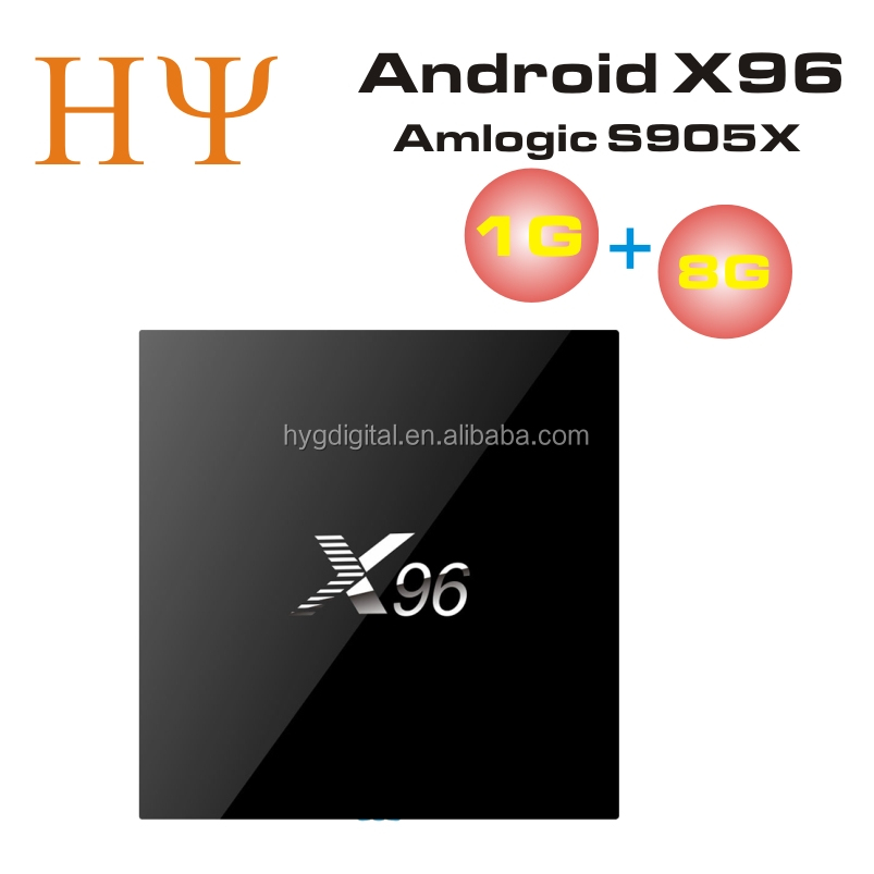 [Genuine] Best X96 Android 6.0 Marshmallow Android TV Box Amlogic S905X Quad Core TV Box X96