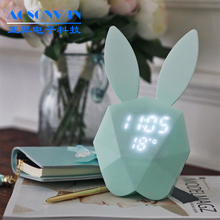 Funny night-light digital alarm clock for kids
