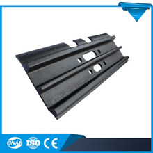 made in China pc 300 excavator track shoes daewoo rubber track shoe pad road header sany track shoes hot sale